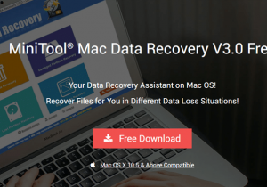 MiniTool Mac Data Recovery Review