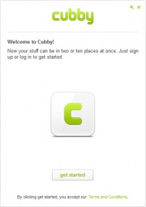 Cubby- App Welcome