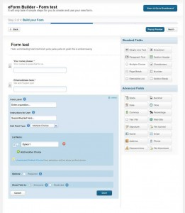 FilesAnywhere eForm-DesignForm