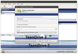 TeamDrive - Software Monitor Existing Spaces