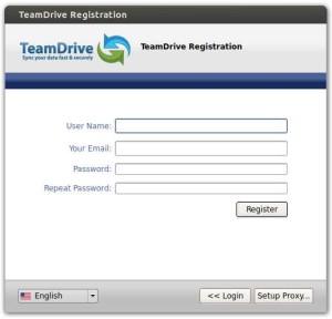 TeamDrive - Software Register
