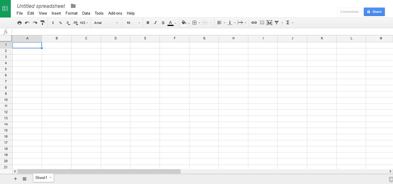 Google-Drive-Google-Sheets