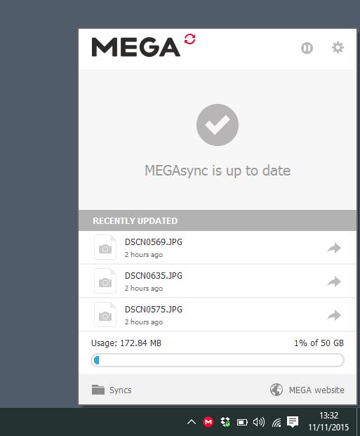MEGA-sync-desktop