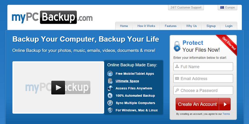 MyPCBackup Review - BestBackups.com