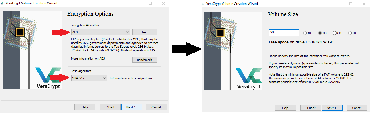 VeraCrypt Encryption Protocols