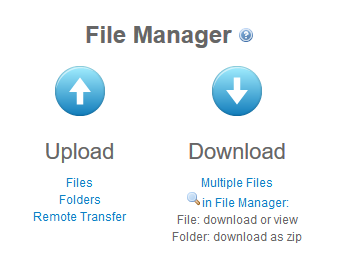 adrive file manager upload