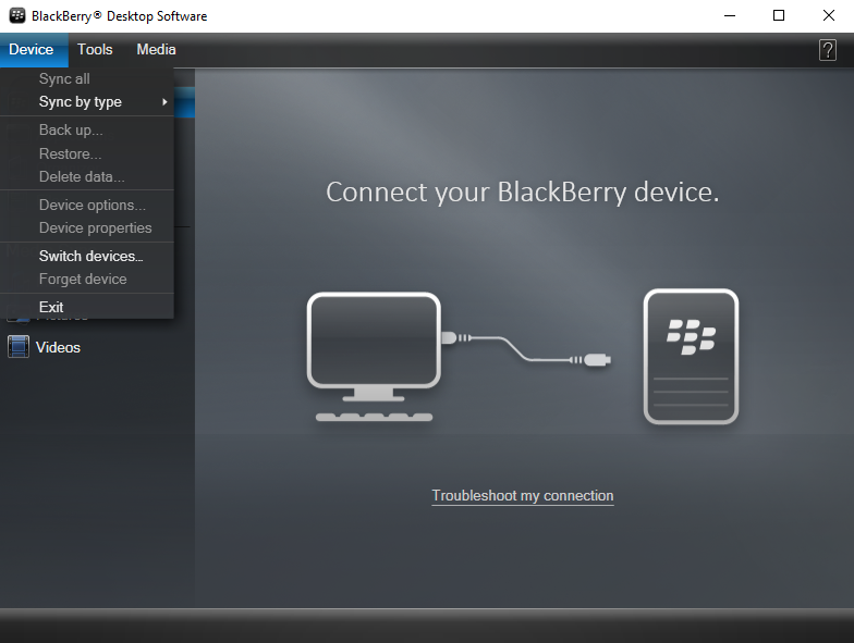 backup blackberry phone