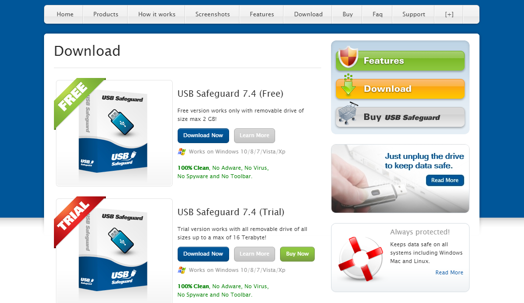 USB Safeguard download